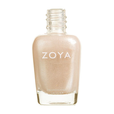 Zoya Nail Polish - Glimmer - ZP297 - French, Nude, Metallic, Warm