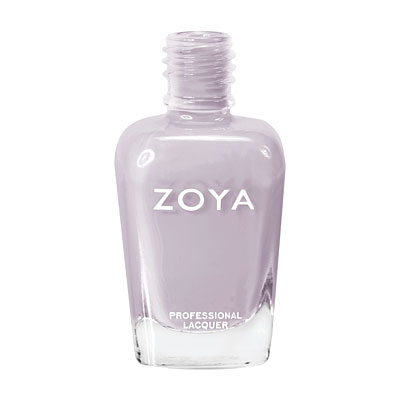 Zoya Nail Polish ZP593  Megan  Gray Nail Polish Cream Nail Polish