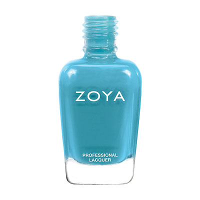 Zoya Nail Polish - Rocky - ZP668 - Blue, Cream, Cool