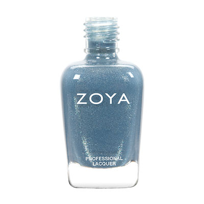 Zoya Nail Polish - Skylar - ZP588 - Blue, Metallic, Cool