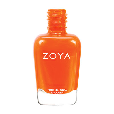 Zoya Nail Polish - Thandie - ZP664 - Orange, Cream, Warm