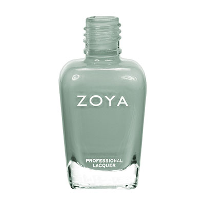 Zoya Nail Polish - Bevin - ZP587 - Green, Cream, Cool