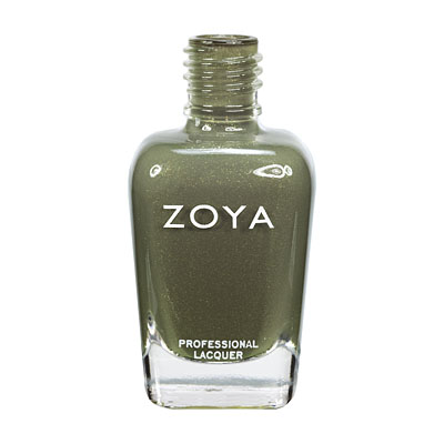 Zoya Nail Polish - Yara - ZP573 - Green, Metallic, Warm, Cool