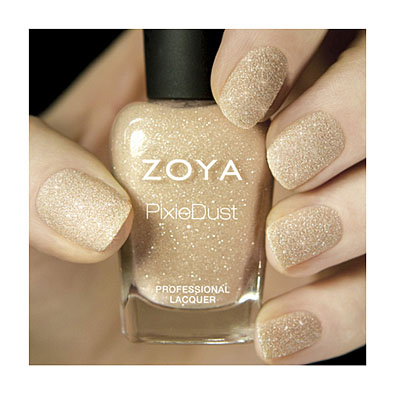 Zoya Nail Polish in Godiva PixieDust - Textured alternate view 2 (alternate view 2)